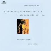 Bach: Brandenburg Concertos Nos.4-6; Triple Concerto BWV 1044