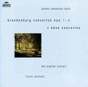 Bach, J.S.: Brandenburg Concertos Nos.1-3 ; Oboe Concertos after BWV 1055 & 1060