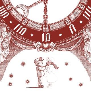 ヨエツアルカイハ1番街の時計塔/インカーネーション