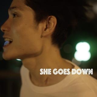 she goes down