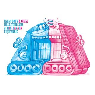 Hello!! BOYS & GIRLS HALL TOUR 2015 at 日比谷野音