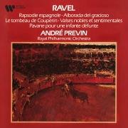Ravel: Rapsodie espagnole, Le tombeau de Couperin, Valses nobles et sentimentales & Pavane pour une infante défunte