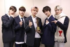 TOMORROW X TOGETHER「ソウル歌謡大賞」にて本賞受賞
