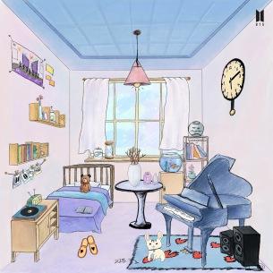 BTS JIN、子犬とピアノを飾り「ARMYの部屋」ついにフィナーレ