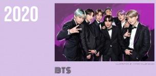 BTS、米ビルボード〈2020年最高のポップスター〉アジア勢初ランクイン
