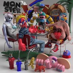 TENDOUJI 4年ぶりのアルバム『MONSTER』アートワーク&トラックリスト公開
