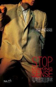コンサートフィルムの金字塔『STOP MAKING SENSE』 1週間限定上映が決定