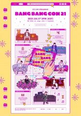 BTS、1年ぶりに〈BANG BANG CON 21〉4/17開催