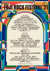 〈フジロック'21〉第1弾で電気、RADWIMPS、King Gnu、平沢進+会人(EJIN)、羊文学、君島大空ら決定