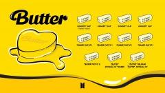 BTS、デジタルSG「Butter」5/2からコンセプト・クリップ公開でプロモ開始
