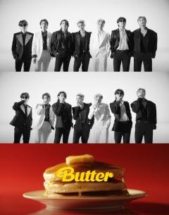 BTS、白黒グループ・ショットの「Butter」MVティーザー公開