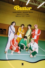 BTS、「Butter」のSweeterとCoolerリミックスverを発表
