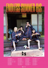 BiS、全国ツアー〈ENDLESS SUMMER BiS TOUR〉のビジュアルを公開