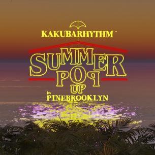 """大阪""""KAKUBARHYTHM SUMMER POP UP''7/11より開催決定"""