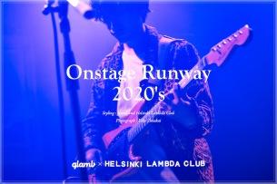 ファッションブランドglambのライヴフォトセッションにHelsinki Lambda Clubがモデルとして登場