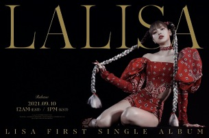 BLACKPINK LISA、「LALISA」で9/10ソロ・デビュー