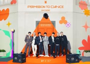BTS、10/24にオンライン・コンサート〈BTS PERMISSION TO DANCE ON STAGE〉開催