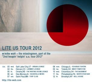 LITE、10月にUS10都市ツアーを敢行