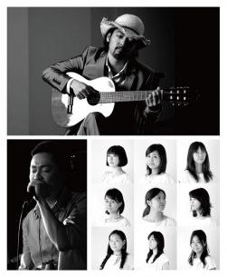 七尾旅人らが「声」で魅せるスペシャル・セッション〈VOICE! VOICE! VOICE!〉開催