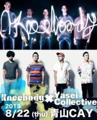 Yasei Collective、米ジャム・バンドKneebodyとWリリース・ライヴ開催