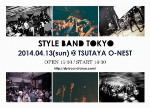 〈STYLE BAND TOKYO 2014〉追加でZZZ`s、6eyes、group A、Hysteric Picnicら