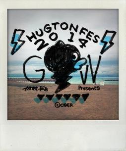 かせきさいだぁの〈ハグトンフェス 2014〉盛りだくさん追加情報!