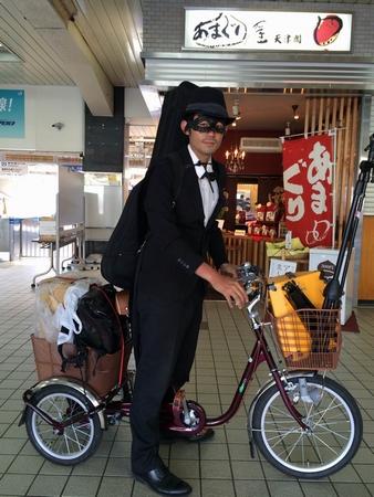 BiSチームが手がける蜜矢、福岡から自転車で帰還を目指す過酷なチャリツアー開始