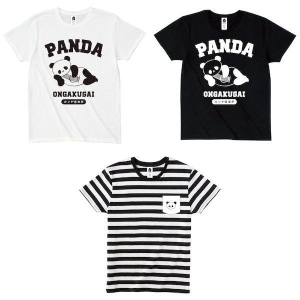 〈パンダ音楽祭〉でゆるゆるなOTOEコラボTシャツ発売