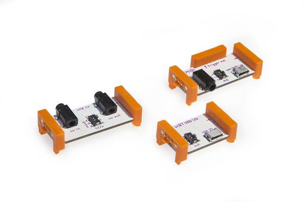 littleBitsがこれで本格楽器へ? 新モジュール発表で更なる拡張が!