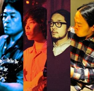 吉兼聡(ZAZEN BOYS)企画のセッション・ライヴに山本精一、千葉広樹、山本達久