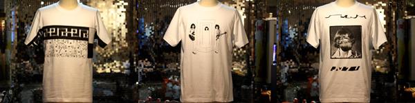 五木田智央、坂本慎太郎、古田泰子(TOGA)によるLIQUIDROOM 10周年Tシャツ、デザイン公開!