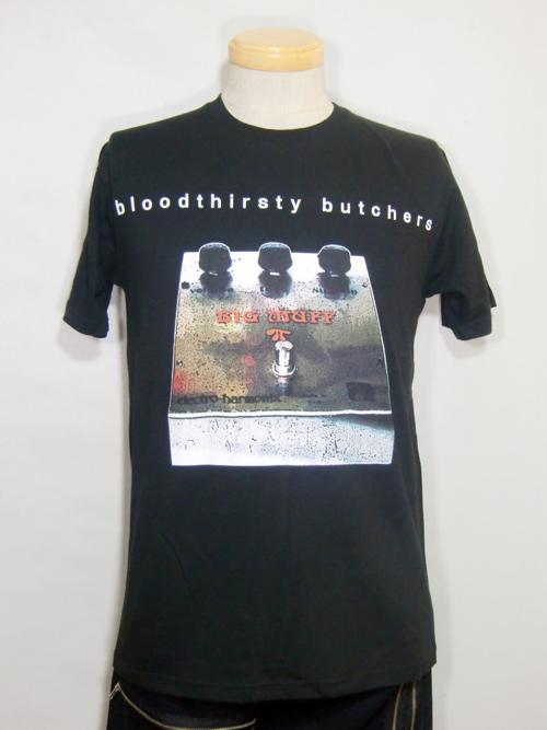 吉村秀樹との約束を果たしFUÜDOBRAIN×bloodthirsty butchersコラボTシャツ発売