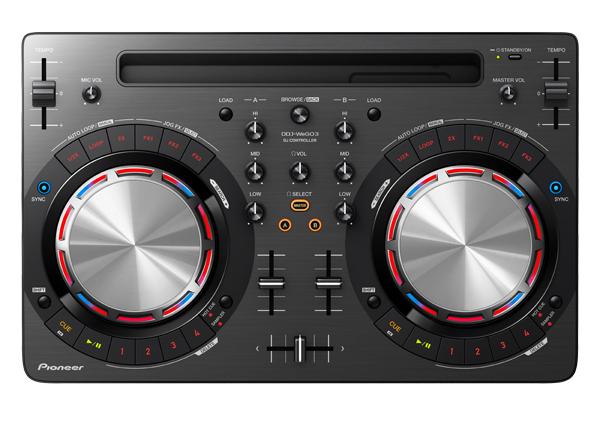 iPhone/iPadの音源で本格DJも! パイオニアのお手軽新DJコントローラー、DDJ-WeGO3登場