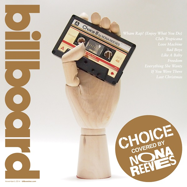 "NONA REEVES、全曲ワム!のカバー・アルバム『""Choice III"" by NONA REEVES』をリリース"