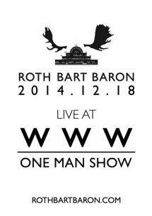 ROTH BART BARON2度目のUSツアースタート、ワンマン・ライヴトレーラー公開
