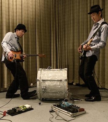 射守矢雄と平松学、ふたりのベーシストによるユニットが音源発表