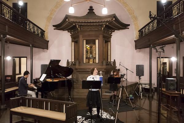 Suara、築100年の建築でレコーディングした新作をDSDでリリース