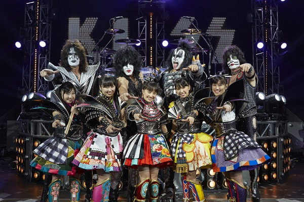 日本人初! ももクロがKISSとコラボ・シングル発売