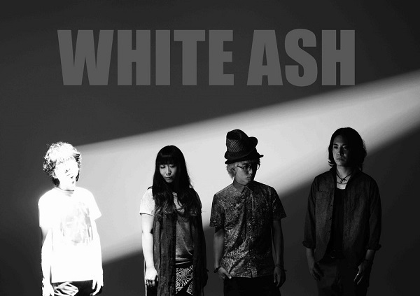 WHITE ASH、3rdアルバム発売&ワンマン・ツアー開催決定