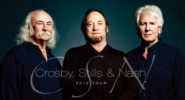 CROSBY,STILLS & NASH、20年ぶりの来日公演開催