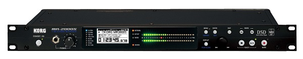 コルグDSDレコーダー「MR-2000S」に128GBのSSDを搭載した「MR-2000S-BK-SSD」発売