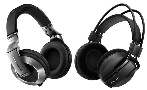Pioneer DJがDJモニター用、ハイレゾ対応のDAWモニター用、2種のヘッドフォンを発表!
