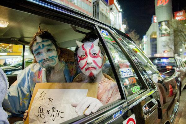 水曜日のカンパネラ、初ワンマン即完で節分の渋谷に鬼出現&クラウドファンディング開始