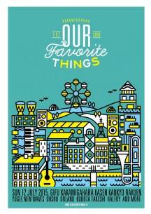 Yogee New Waves、王舟ら出演〈OUR FAVORITE THINGS 2015〉開催