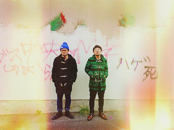 """HINTO安部と伊東のユニット""""堕落モーションFOLK2""""、3年ぶり新作は母校レコーディング"""