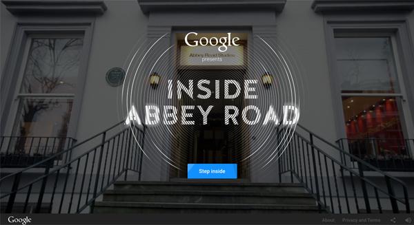 """Googleが、あのアビイ・ロード・スタジオの""""仮想""""ツアーを公開! 中身はもちろんミキシングまでできちゃうぜ!"""