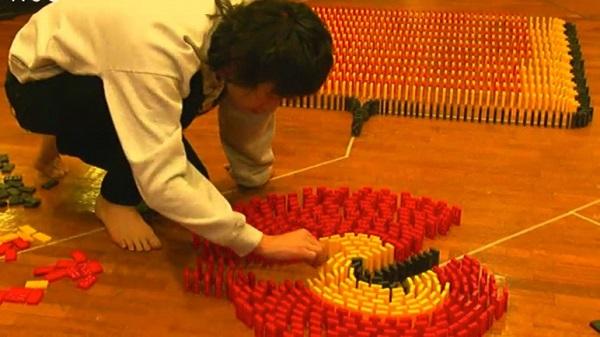 【ドミノ王に俺はなる!】忘れらんねえよ柴田 8日間6万個挑戦タイムテーブル発表