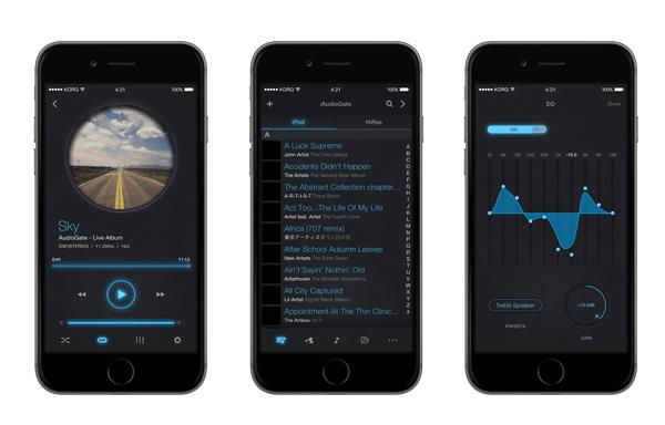 KORG、iOS用ハイレゾ・アプリをヘッドフォン祭りで発表!