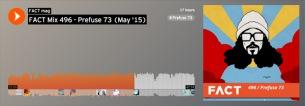 プレフューズ73がフリーDL可能なミックスを手がける
