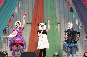 〈第4回パンダ音楽祭〉今年もゆるエモなライヴで大盛況―OTOTOYライヴレポ